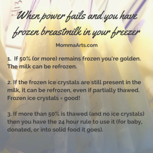frozen breastmilk meme