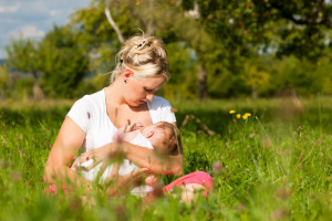 Summertime Breastfeeding